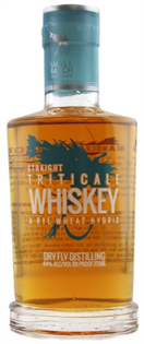 Dry Fly Whiskey Straight Triticale 750ml